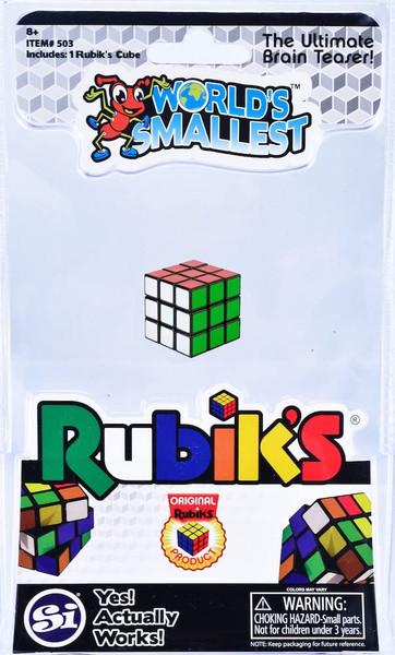 World's Smallest Rubik's Cube Puzzle Toy by Super Impulse 503