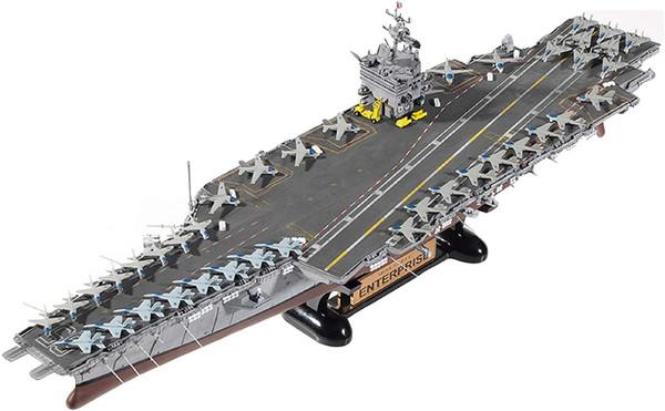 US Navy CVN-65 USS Enterprise 1:600 Model Kit ACD14400