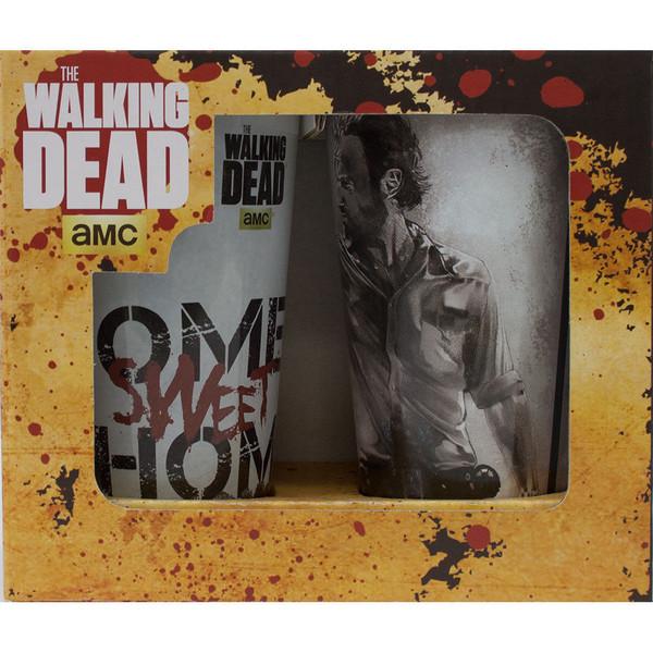 Just Funky Walking Dead Pint Glass 2-Pack (WD-GS2-2123)