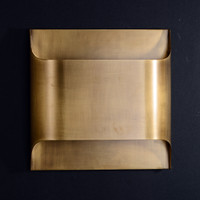 Luther Double Lights Wall Sconce Brass