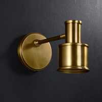 Edmund Wall Lighting Brass