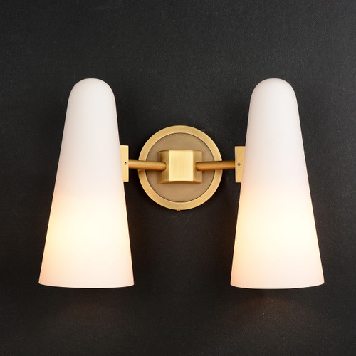 Bianco Double Sconce Brass