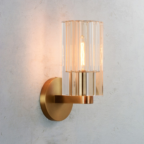 Aubrey Single Sconce Brass