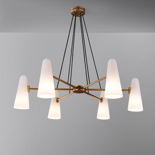 Bianco Chandelier 6 Lights