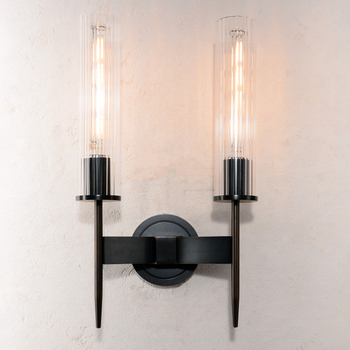 Aicken Double Sconce Bronze