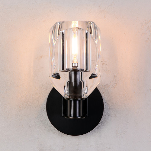 Charles Crystal Wall Sconce Bronze