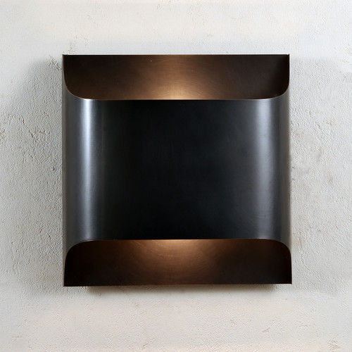 Luther Double Lights Wall Sconce Bronze
