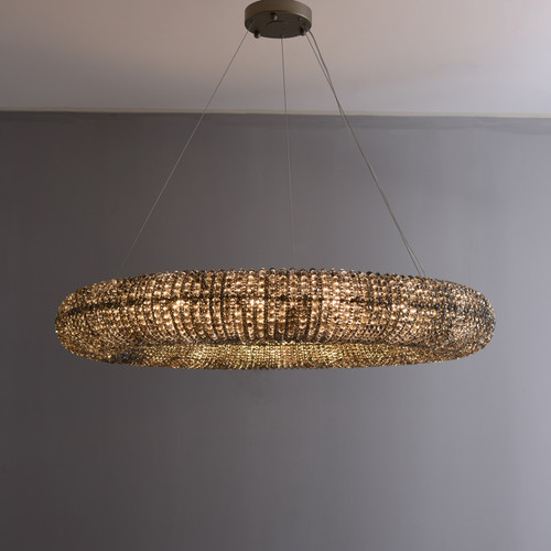 """Hale Crystal Clear Chandelier 32"""""""