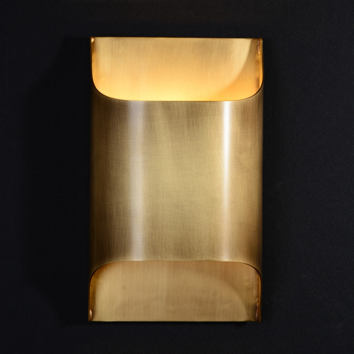 Luther Single Sconce Brass