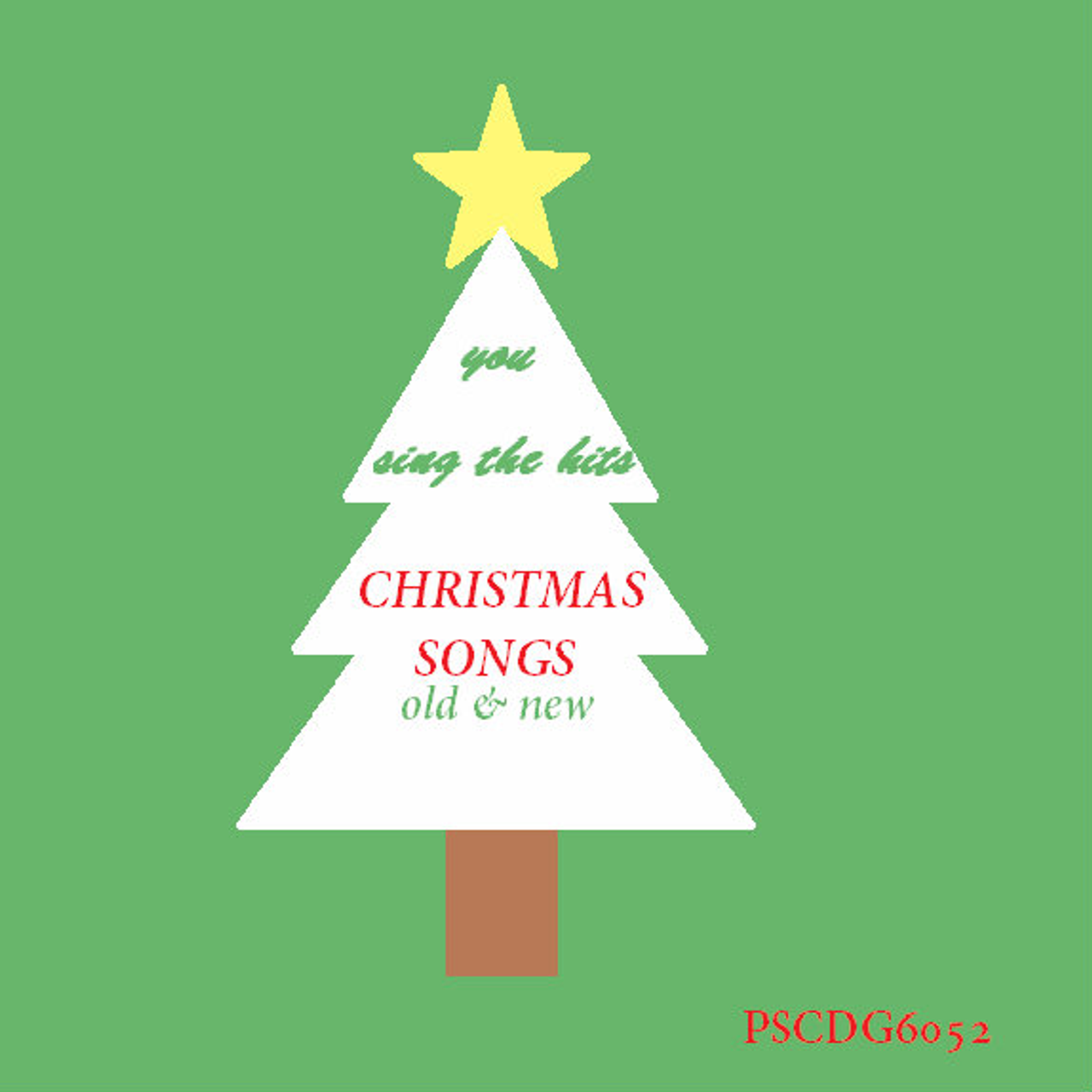 Christmas Songs Old & New (PSCDG-6052 LMT-QTY)