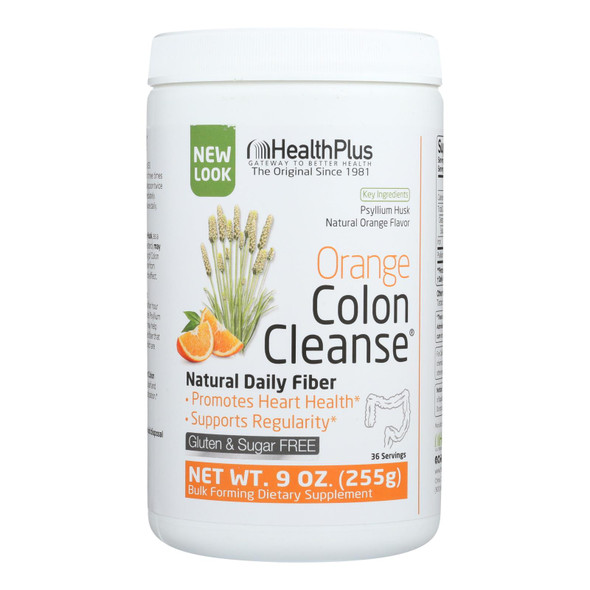 Health Plus - Colon Cleanse - Orange - 9 Oz