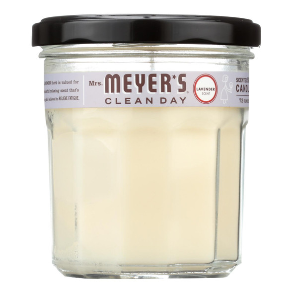 Mrs. Meyer's Clean Day - Soy Candle - Lavender - 7.2 Oz Candle