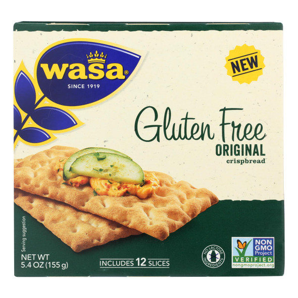 Wasa Gluten-free Original Crispbread  - Case Of 10 - 5.4 Oz