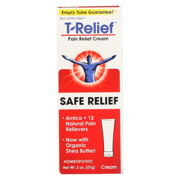 T-relief - Pain Relief Ointment - Arnica Plus 12 Natural Ingredients - 1.76 Oz