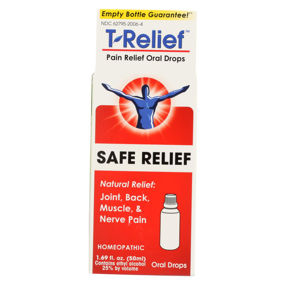 T-relief - Pain Relief Oral Drops - Arnica Plus 12 Natural Ingredients - 1.69 Oz