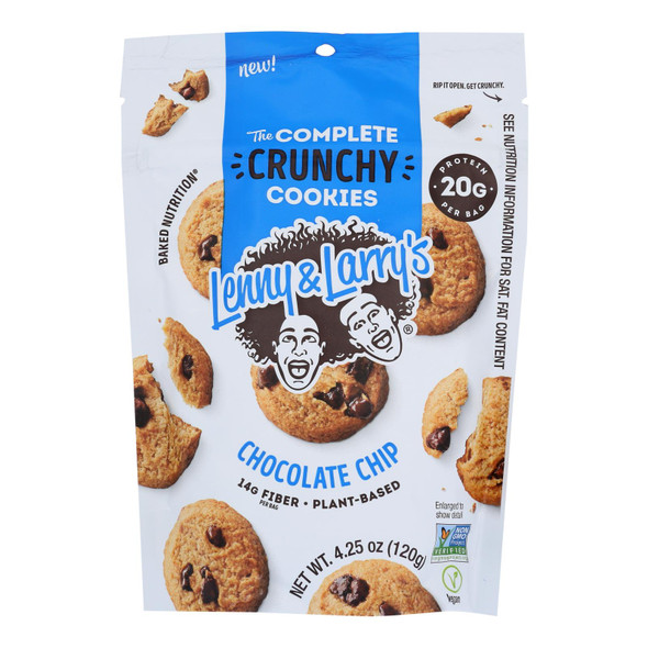 Lenny  The Complete Crunchy Cookies - Case Of 6 - 4.25 Oz