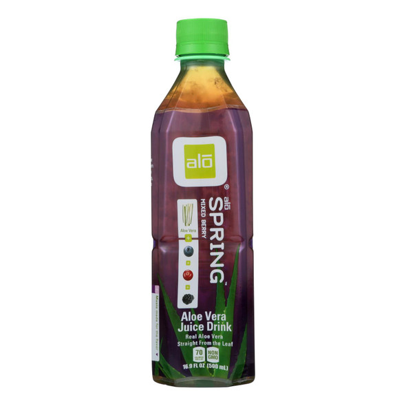 Alo - Drink Spring Mixed Berry - Case Of 12-16.9 Fl Oz.