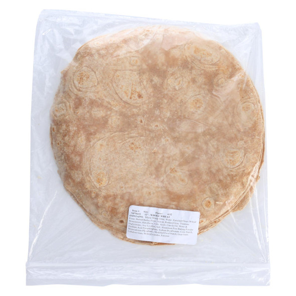 Tumaros - Tort Whole Wheat 12 Inch - Case Of 6 - 12 Ct