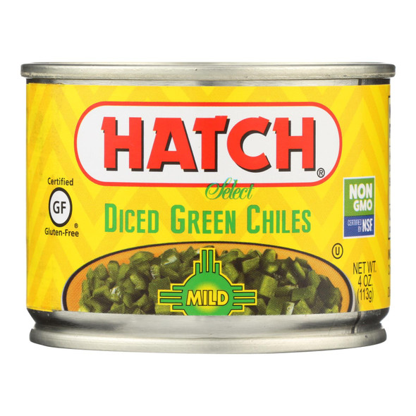 Hatch Chili Hatch Fire - Roasted Chiles - Cooking Sauce - Case Of 24 - 4 Oz.