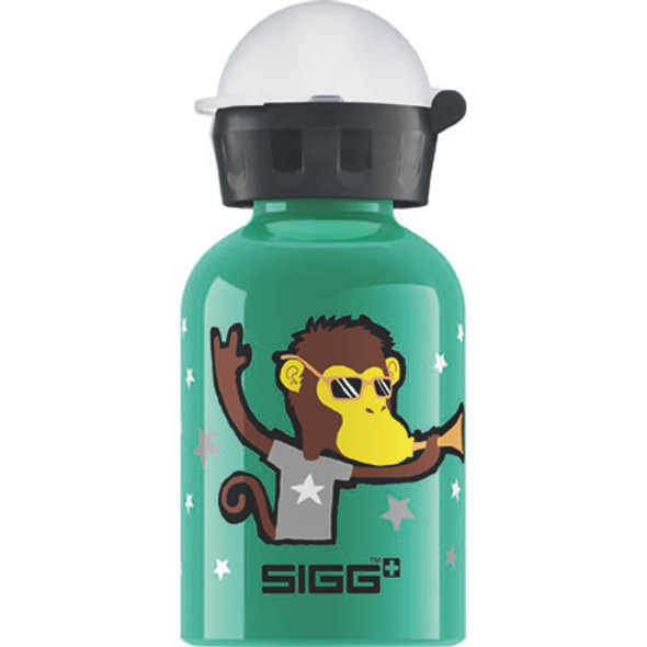 Sigg Water Bottle - Go Team - Monkey Elephant - 0.3 Liters - Case Of 6