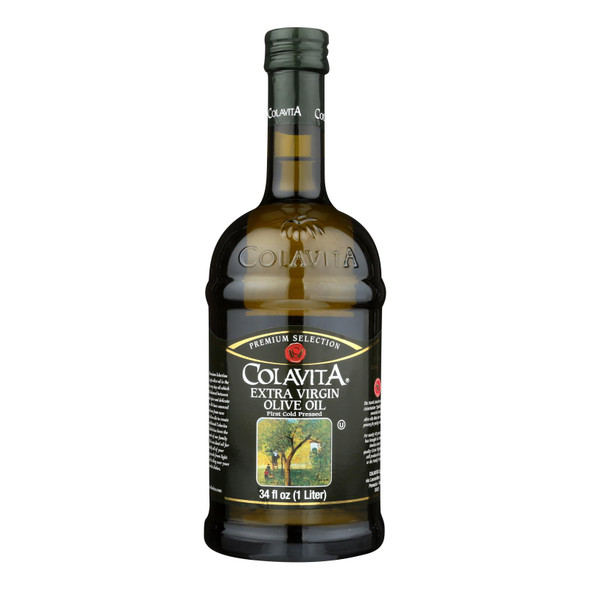 Colavita - Premium Extra Virgin Olive Oil - Case Of 6 - 33.8 Fl Oz.