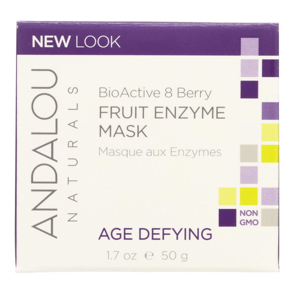 Andalou Naturals Bioactive 8 Berry Fruit Enzyme Mask - 1.7 Fl Oz