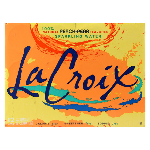 Lacroix Sparkling Water - Case Of 2 - 12/12 Fz