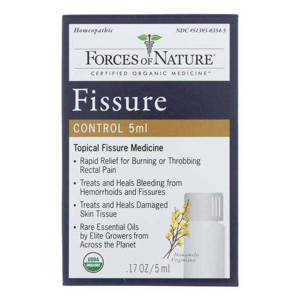 Forces Of Nature - Fissure Control - 1 Each - 5 Ml