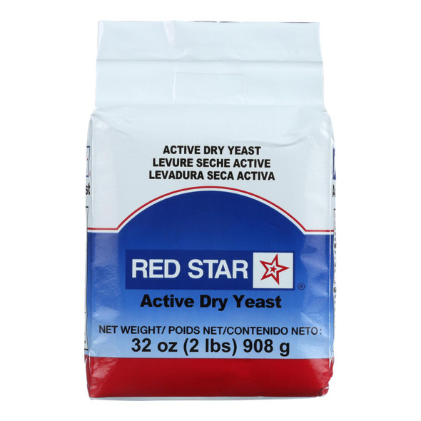 Red Star Nutritional Yeast Active Dry Yeast - 2 Lb.