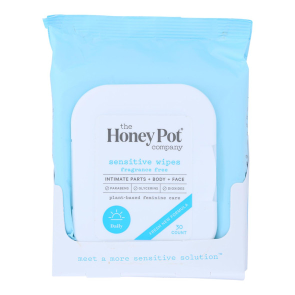 The Honey Pot - Sensitive Wipes - 30 Ct