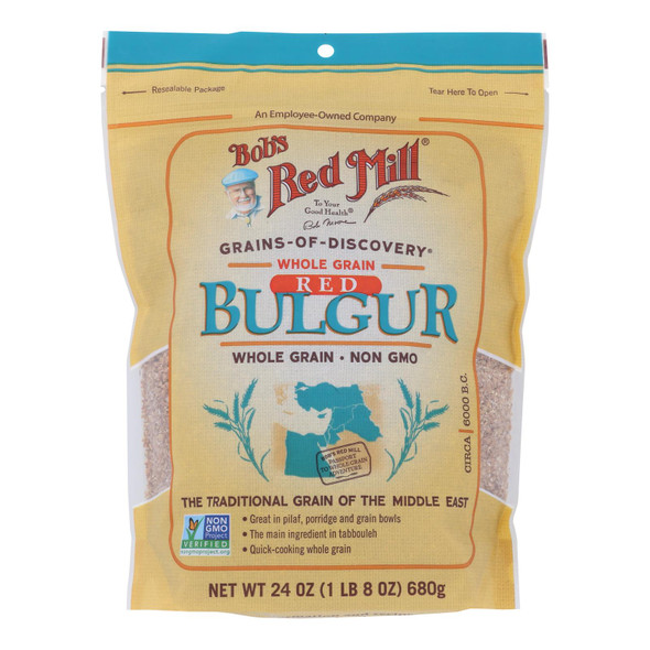 Bob's Red Mill - Bulgur Red Wheat - Case Of 4-24 Oz