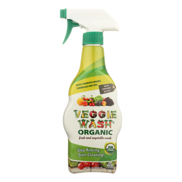 Citrus Magic Veggie Wash - Organic - Spray Bottle - 16 Oz