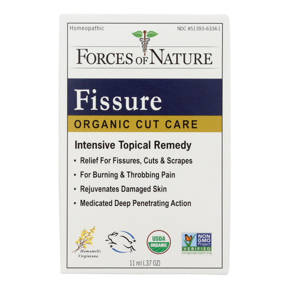 Forces Of Nature - Organic Fissure Control - 11 Ml