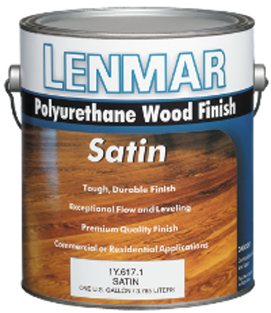 Lenmar Clear Finish Polyurethane