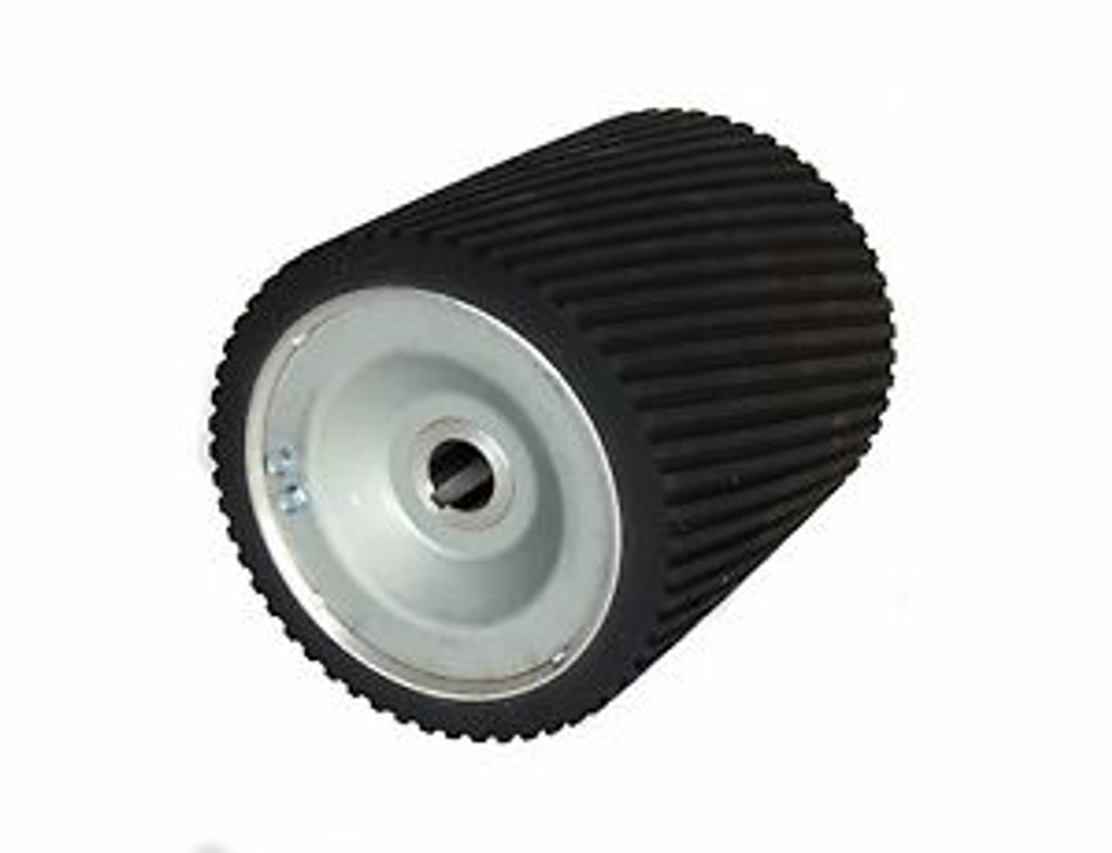 """8""""  Sanding Drum, HARD RUBBER Cover. *See PH161 Also*"""