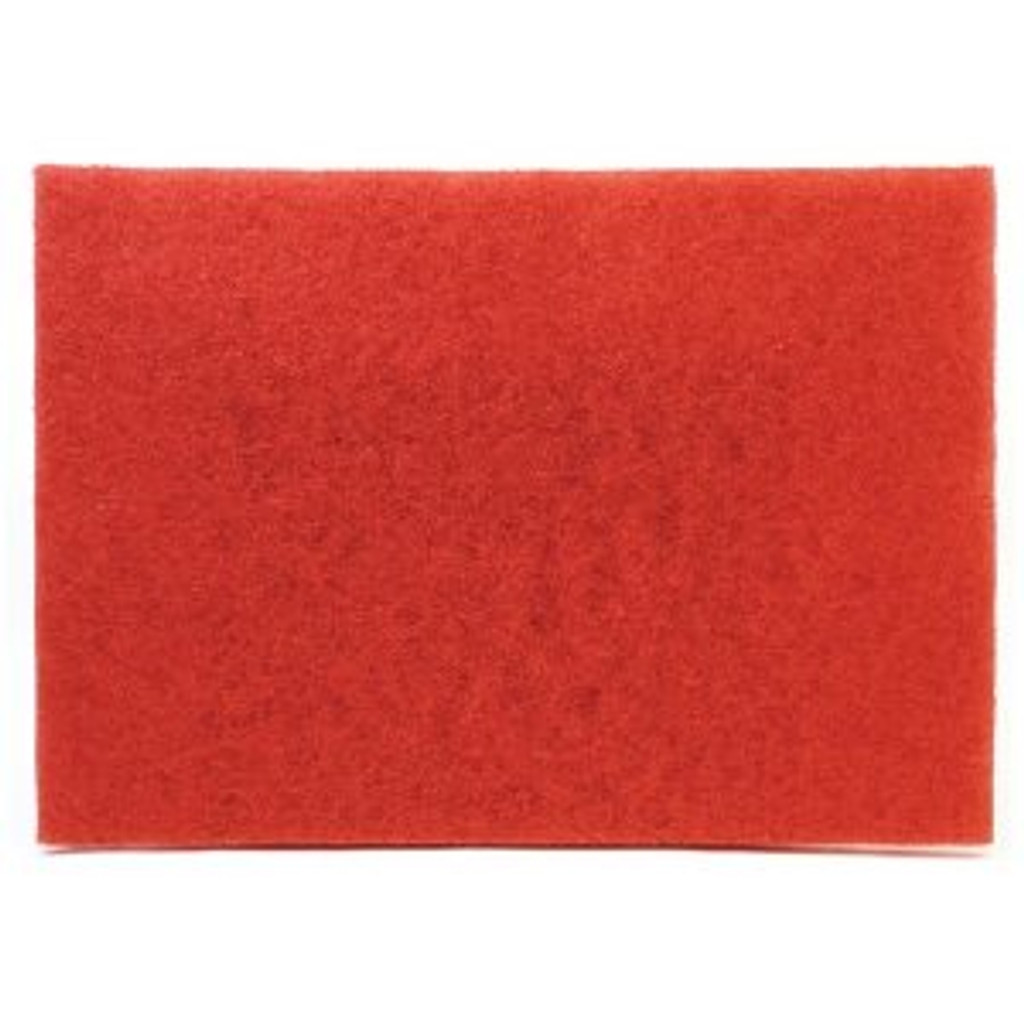 "12"" x 18"" Red Maintenance Pad"