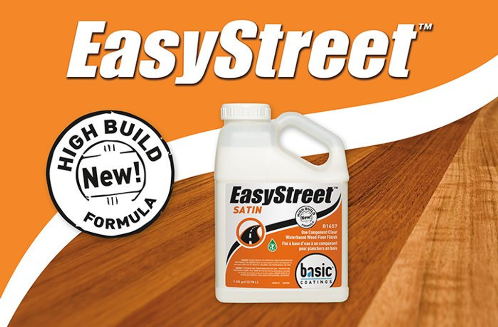 EasyStreet Clear Waterbased Single Component Finish