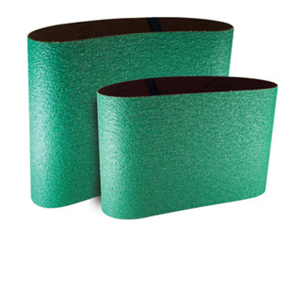 "Available in 36 - 120 Grit. 8"" and 10"" belt sizes. *CALL FOR PRICING*"
