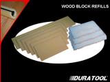 Duratool Lambswool Block/Pad - Refill Pads