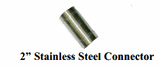 """2"""" Stainless Steel """"Y"""" Connector"""