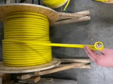 10/4 Yellow Non-Marking Cable, For 220v and 480V Sanders