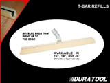 Duratool T-Bar Refill