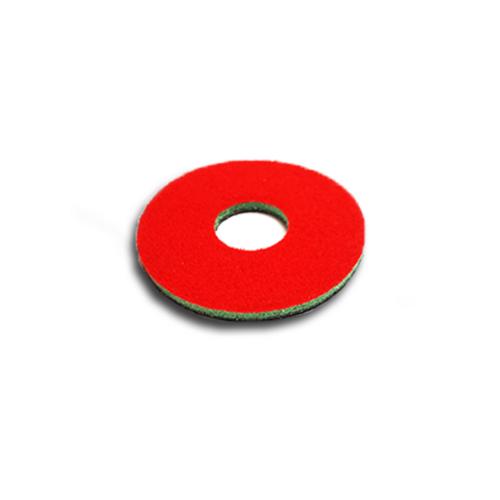 "3"" Green/Red Velcro discs for the corner attachment / Flip Edger"