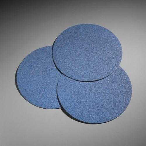"""7"""" Norton Blue Fire Hook & Loop Edger Discs (Box of 25 Discs)"""