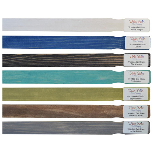 Dixie Belle Paint Voodoo Stain Stick Samples