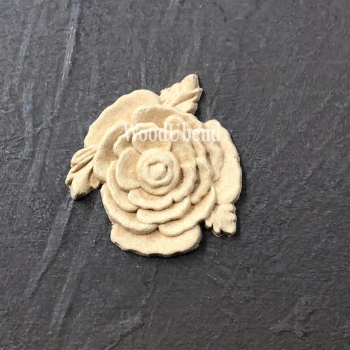 WoodUBend Floral Applique #339