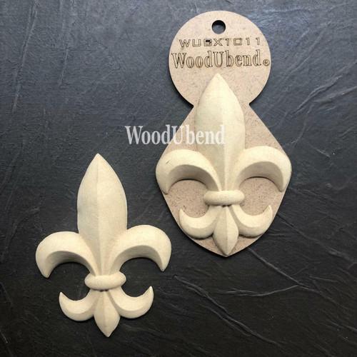 WoodUBend Fleur-de-lis Applique #X1011
