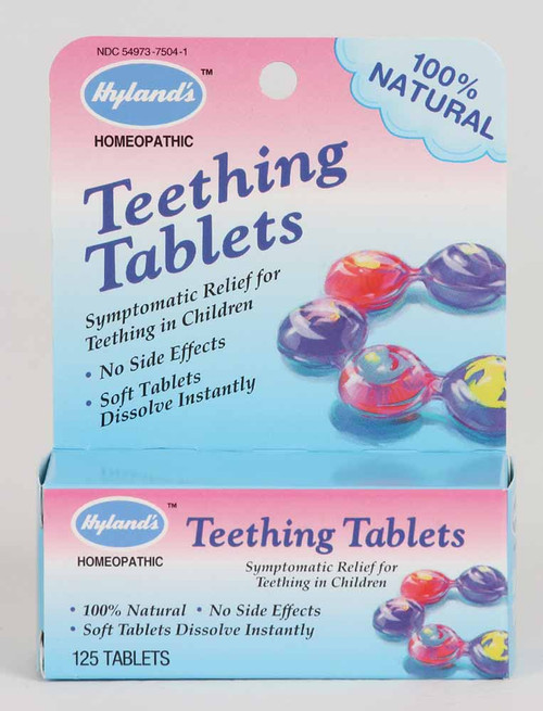 Hyland's Teething tabs