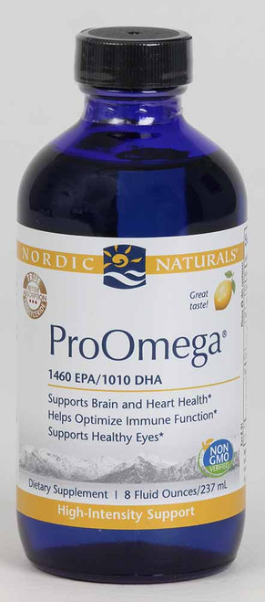 ProOmega Liquid, Lemon Flavor 8 oz