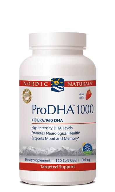 ProDHA 1000 mg, 120 soft gels